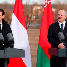 Лукашенко и канцлер Австрии Курц проведут встречу в Минске