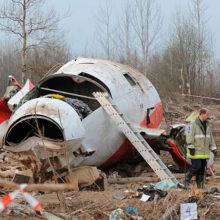Названа причина крушения самолета с президентом Польши