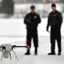 Сотрудники МВД получили на вооружение беспилотники