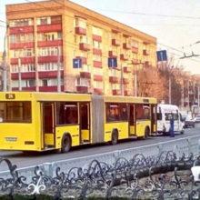ДТП в Гомеле: столкнулись автобус и маршрутка