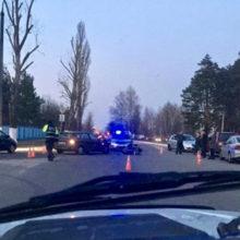 ДТП в Мозыре: столкнулись легковушка и мотоцикл