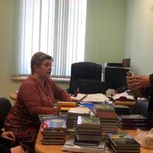 Инициатива «Союз» продолжает передавать книги в библиотеки Союзного государства