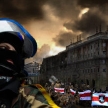 Украинские националисты продолжают попытки перенести Майдан в Беларусь