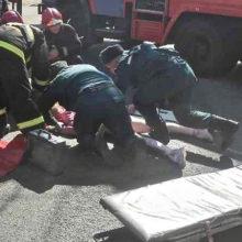 Спасатели, ставшие очевидцами ДТП, помогли пострадавшей