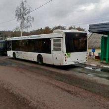 В Мозыре при выходе из автобуса пострадал пассажир