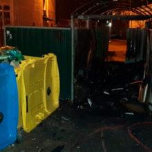 На мусорке в центре Минска сгорел бездомный мужчина
