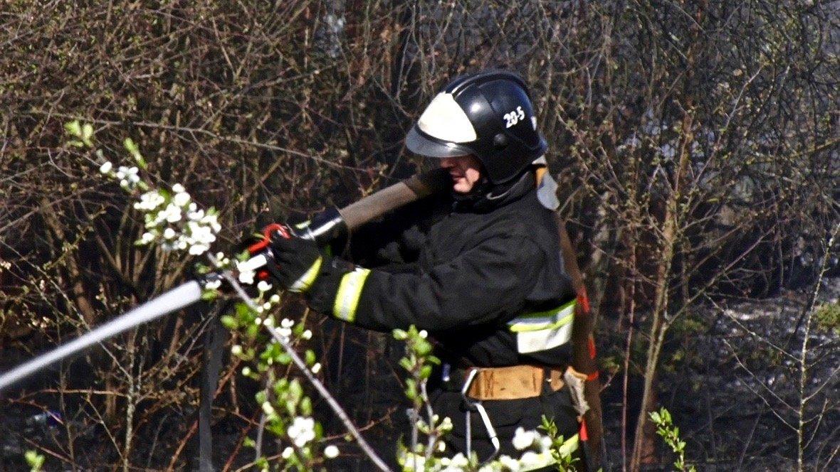 пожар в Светлогорске
