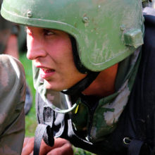 В Беларуси проходят испытания на право ношения Крапового берета