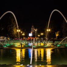 26 апреля в Гомеле откроется сезон фонтанов