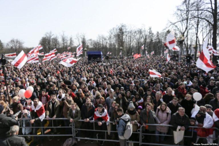 собираются перенести Майдан в Беларусь
