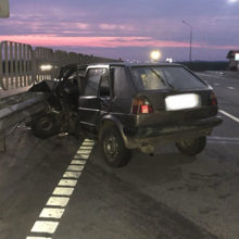 При аварии в Буда-Кошелеве пассажира выбросило из машины