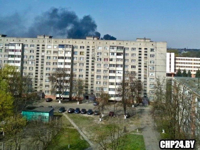 задымление в Советском районе