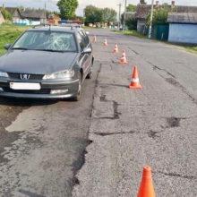 ДТП под Гомелем: Peugeot сбил пенсионерку, выскочившую на дорогу