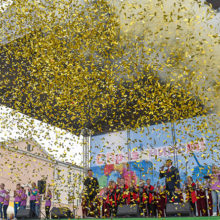 Фоторепортаж: Гомель празднует 1 мая