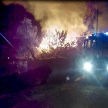 Из-за неисправной проводки под Светлогорском сгорело два дома