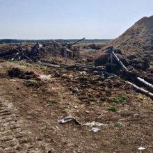 У деревни Хальч обнаружили останки бойцов Красной армии