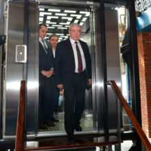Инновационный белорусско-российский лифт презентовали в Москве