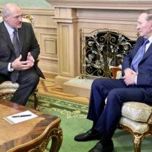 Александр Лукашенко встретился в Минске с Леонидом Кучмой