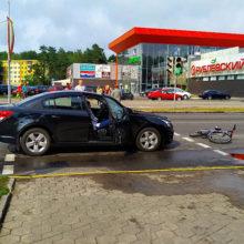 ДТП в Светлогорске: Chevrolet сбил на «зебре» подростка