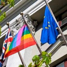 Гей-праздник в британском посольстве и гейские стенания оппозиции