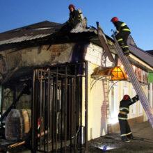 На улице Карповича в Гомеле горело кафе
