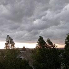Непогода на Гомельщине: потоп в Речице и огромный град в Добруше