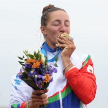 Ольга Худенко стала двукратной чемпионкой II Европейских игр