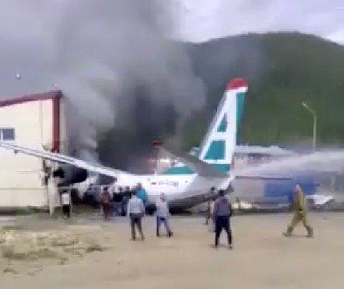 Подробности крушения самолета АН-24 в Нижнеангарске