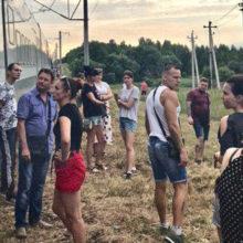 «Штадлер» Гомель— Минск больше четырех часов простоял спассажирами внутри