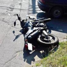 В Гомеле женщина-водитель сбила мотоциклиста