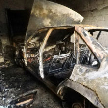 За сутки на территории области сгорело три автомобиля