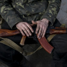 На Донбассе украинский офицер расстрелял своих подчиненных