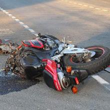 В Гомеле на объездной серьезная авария с участием мотоциклиста