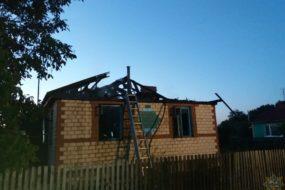 Мужчина сгорел на пожаре в Буда-Кошелевском районе