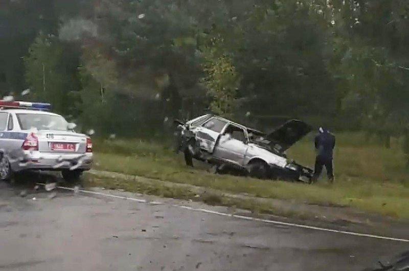 Авария в Рогачеве