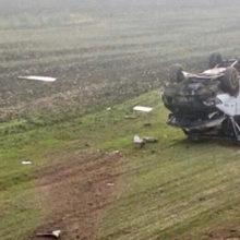 ДТП в Гомельской области: Mercedes вылетел в кювет, водитель погиб