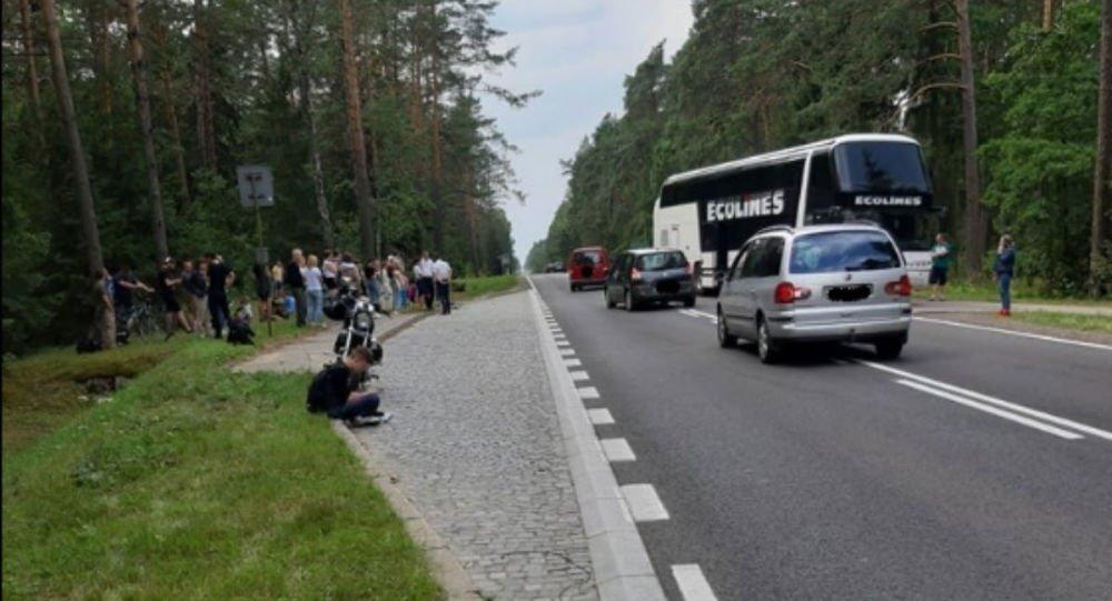 ДТП в Польше