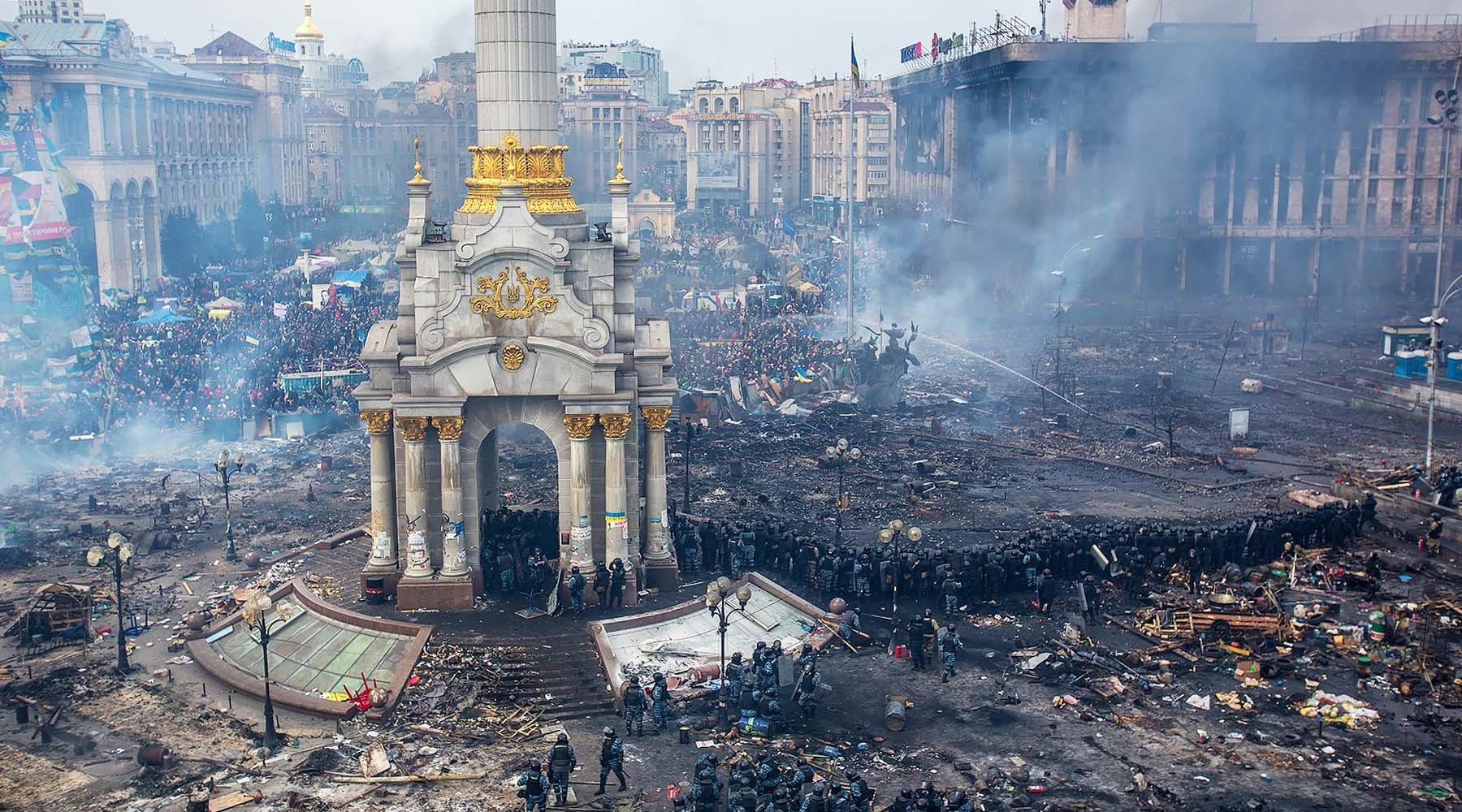 Киевский майдан 2014 года