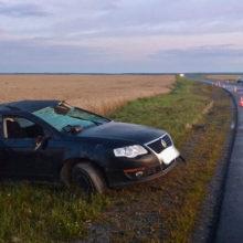 Под Мозырем молодой водитель спровоцировал ДТП, есть пострадавшие
