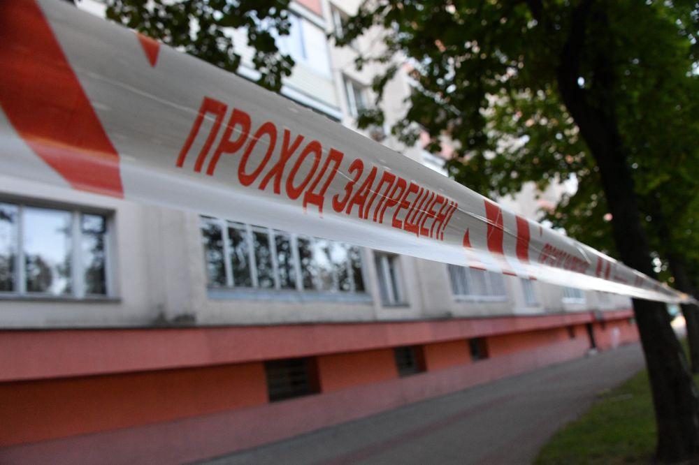 Пострадавшие от взрыва дома на улице Червякова также оцеплены