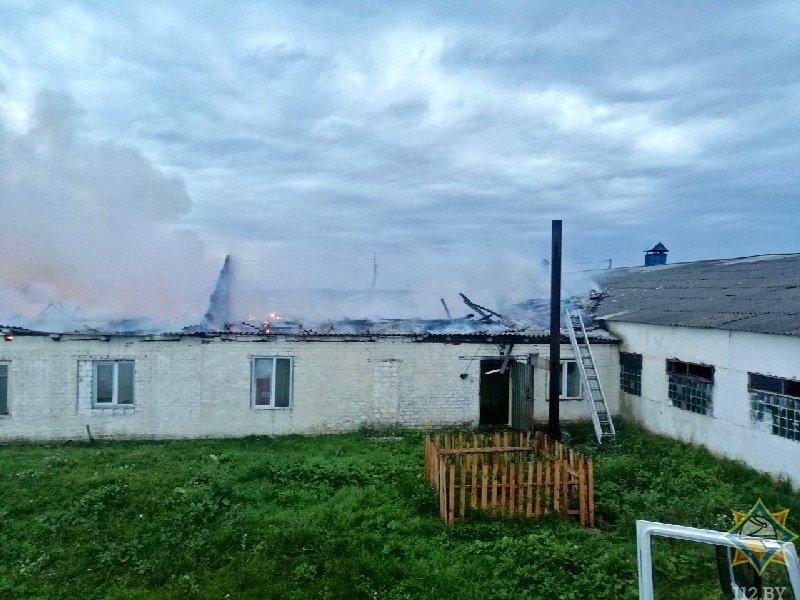 Пожар в Жлобинском районе
