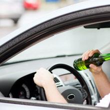 С начала года на Гомельщине по вине пьяных водителей произошло 25 ДТП