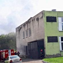 В Гомельском колледже электротехники произошло возгорание