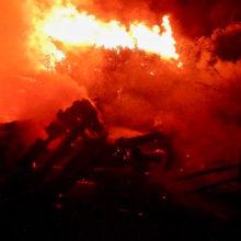 В Речицком районе горели дом и сарай, МЧС говорит о поджоге