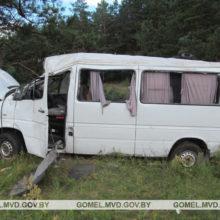 В Рогачевском районе пьяный бесправник врезался в дерево
