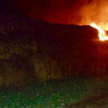 В Жлобинском районе сгорело 60 тонн сена
