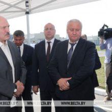 Лукашенко прибыл с рабочей поездкой в Ветковский район