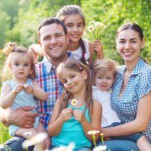 В Беларуси поставят на учет многодетные семьи