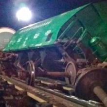 Грузовой вагон сошел с рельсов на станции в Бресте