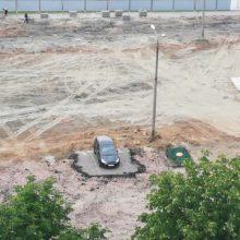 В Гомеле начали строить «МакДональдс» и снесли парковку — но есть проблема